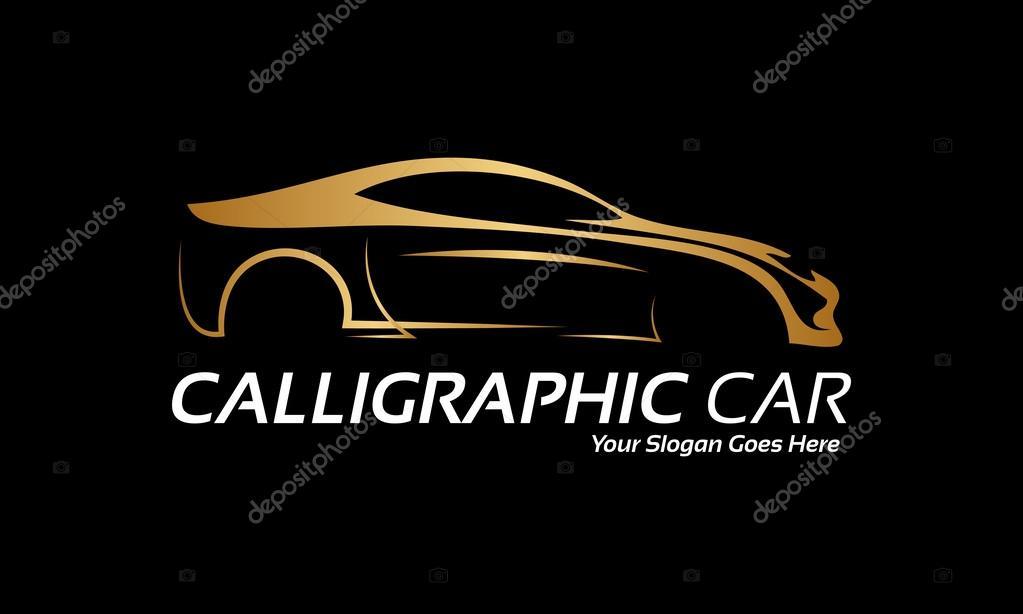 Kalligrafische Auto Logo S Stockvector C Baser 35962035