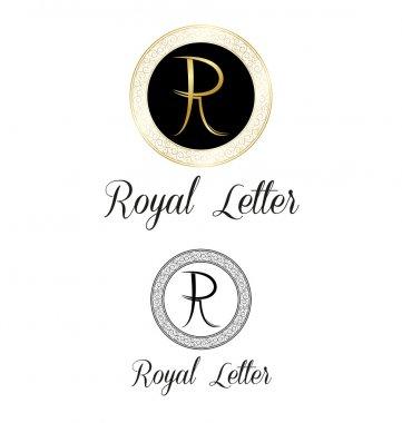 Royal letters logo