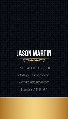 Decorative business card
