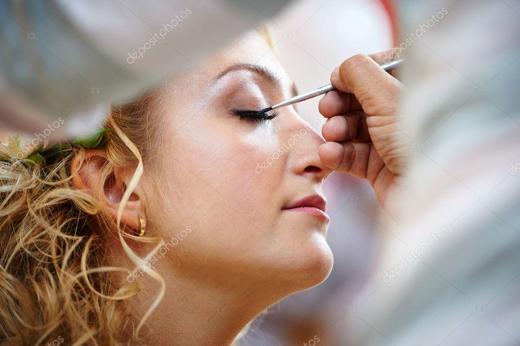 ślubny Makijaż Zdjęcie Stockowe Ryzhov 46663939