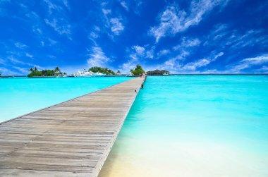 Path to beautiful island