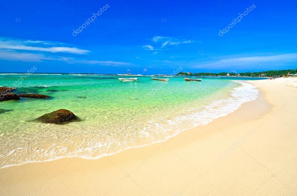 Beautiful beach landscape