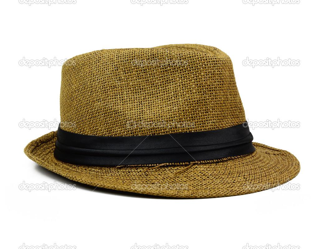 bb8494fce8b88 Chapéu Panamá palha de verão — Stock Photo © surangastock  34234789