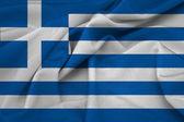 Görögország integetett zászló