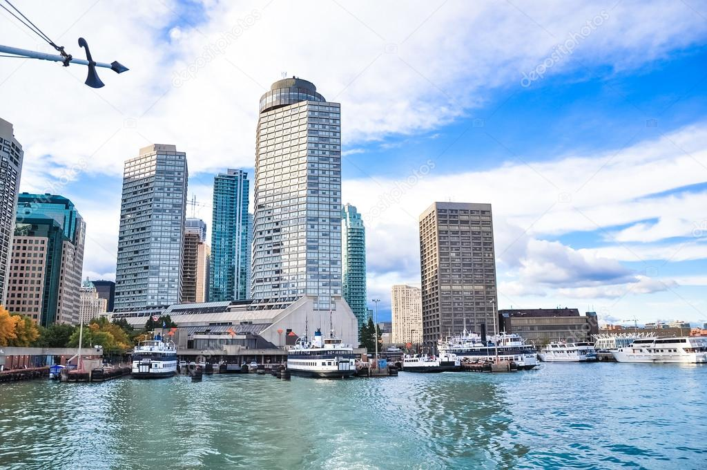 Toronto with modern buildings
