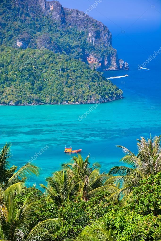 Phi phi island in andaman sea, Phuket, Krabi, Thailand