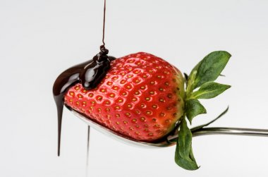 Strawberry with chocolate 5