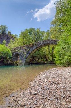 Kamper Aga stone bridge, Epirus, Greece