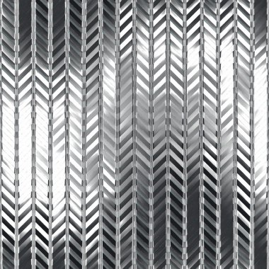 Chrome pattern. Seamless texture.