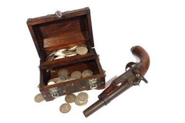Treasure Box and Pistol