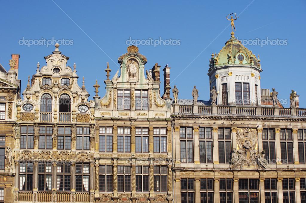 Berühmte Architektur berühmte architektur in brüssel stockfoto fayskaaa 28731671