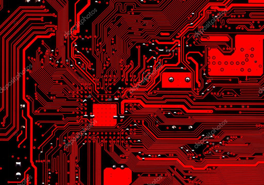 electronic red background wiring - photo #24