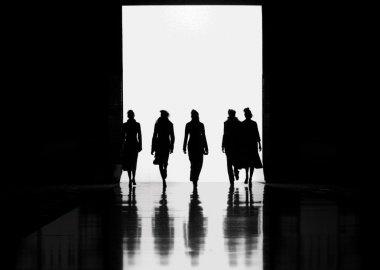 Women's fashion silhouettes