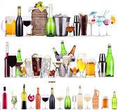 set di cocktail e bevande alcoliche