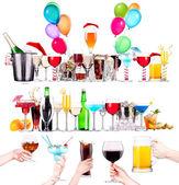 jiný alkohol pije sada izolovaných