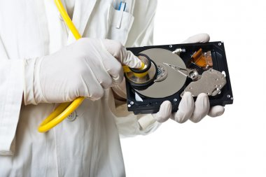 Technician and hard disk