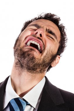 businessman in pain