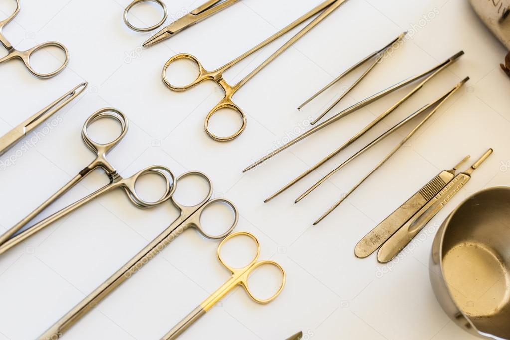 Arranged surgical tools