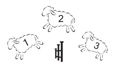 Conceptual illustration of insomnia