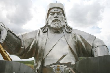 Monument to Genghis Khan in Mongolia
