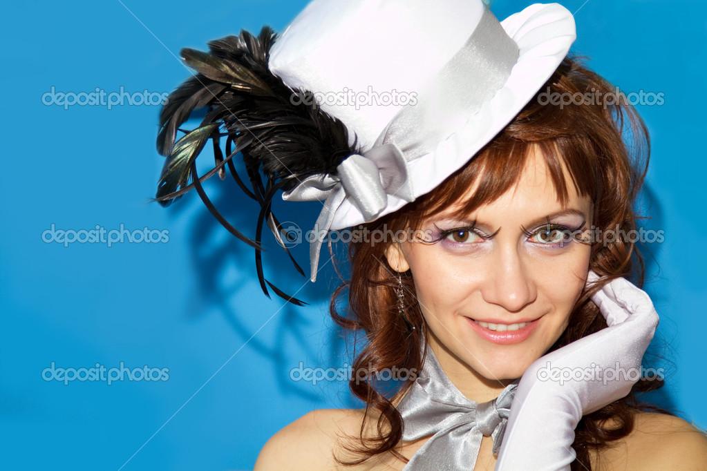 Сексуальные девушки в шляпках
