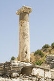 The ruins of the ancient city of Ephesus, located on the territory of modern Turkey