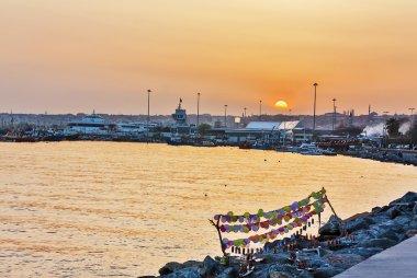 Coast of sea of Marmara, Istanbul