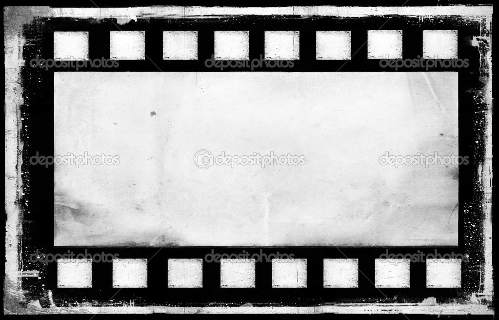 Old grunge film strip frame background — Stock Photo © Gile68 #46968957