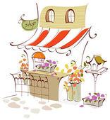 Photo Flower shop exterior