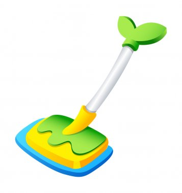 Vector accessories for household cleaning