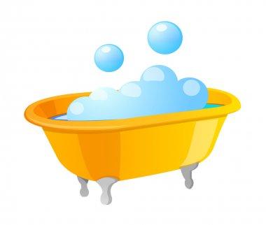 Vector icon bath