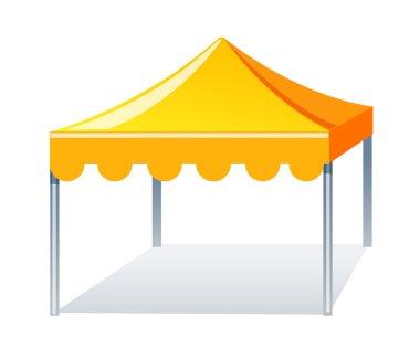 Vector icon event tent