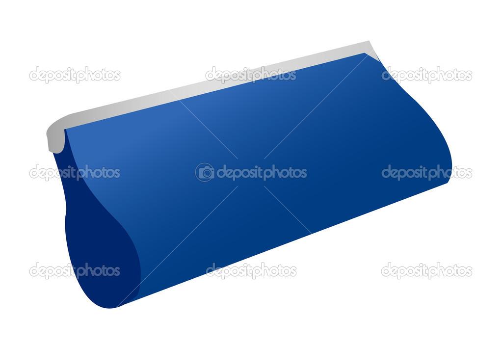 Blauwe Portemonnee.Blauwe Portemonnee Stockvector C Zzve 13431331