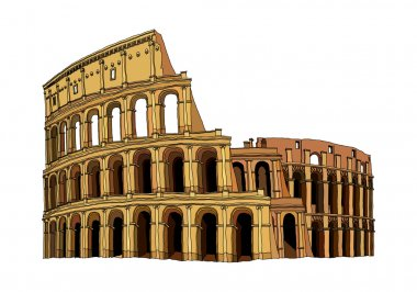 Coliseum Vector Illustration