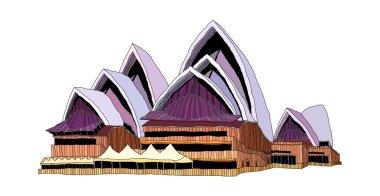 Opera house Vector Illustration