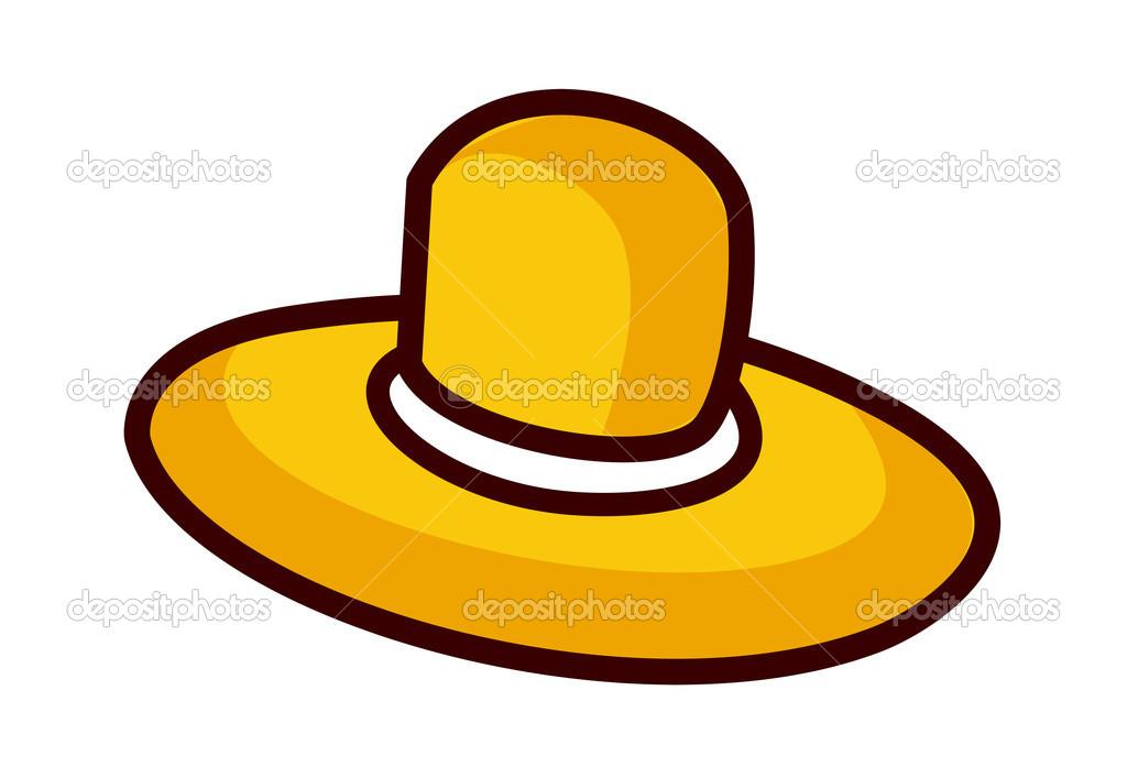 0ccdc18c162c9 chapéu de palha — Vetores de Stock © zzve  13468268