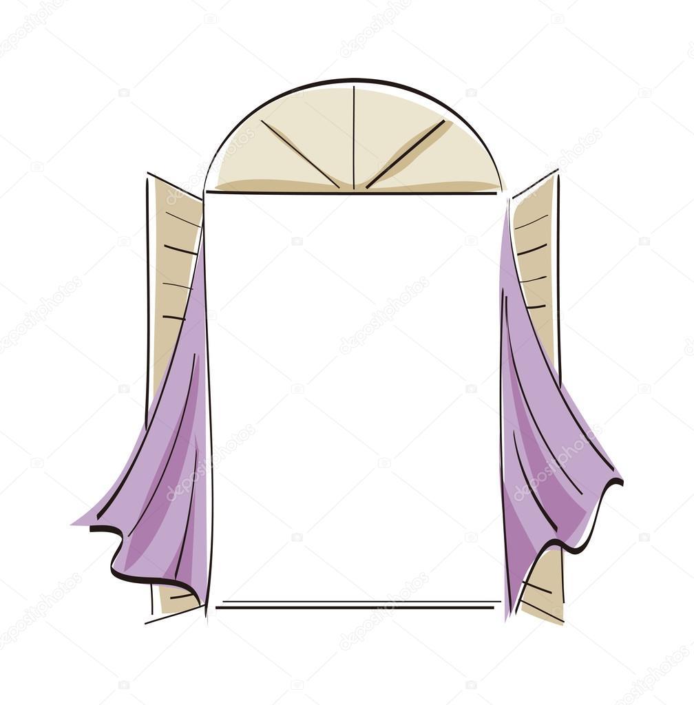 Fen tre de dessin anim image vectorielle 13468558 for Fenetre de connexion