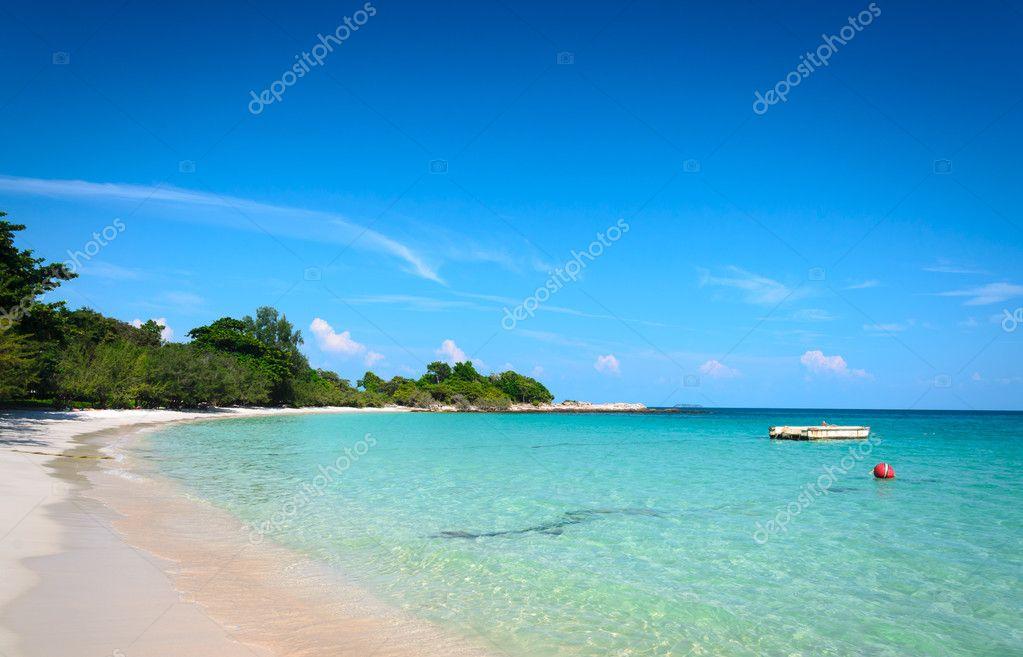 Tropical beach and sea
