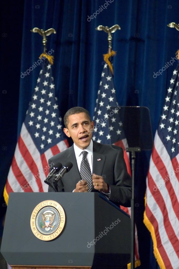 President Barack Obama in Arizona – Stock Editorial Photo