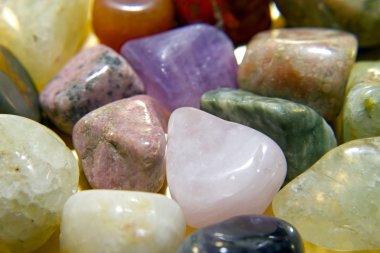 Crystal gemstones color spectrum