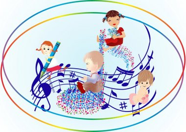 children's day with a song