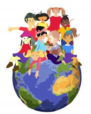 Children planet,