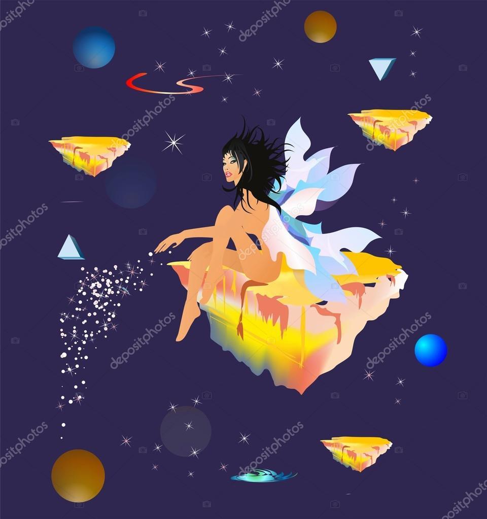 Cosmic angel,
