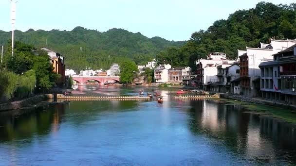A város Fenghuang a Hunan tartomány, Kína