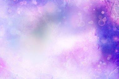 Purple sun bright and blur background