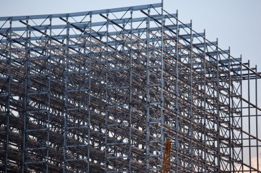 Detail of steel construction