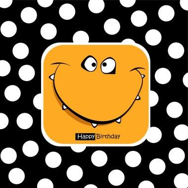 Happy Birthday card smile fanny