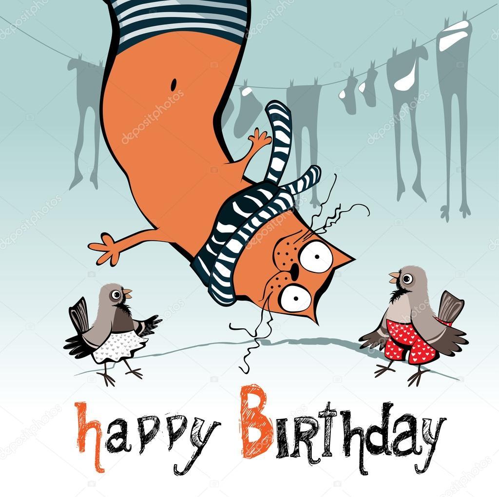 Funny animals singing happy birthday   Happy birthday funny