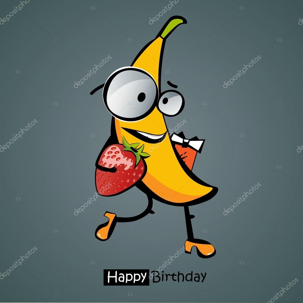 картинки смешные банан