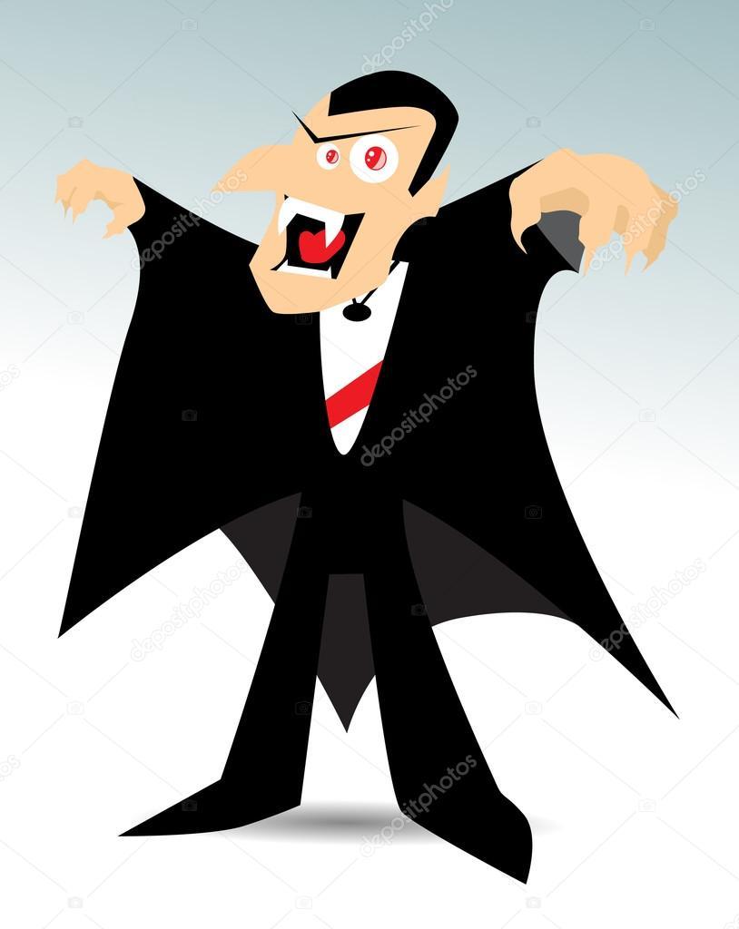 Vampire dessin anim image vectorielle robin2b 20384155 - Dessins de vampires ...